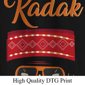 Kadak Pahadi Men's Round Neck T-Shirt