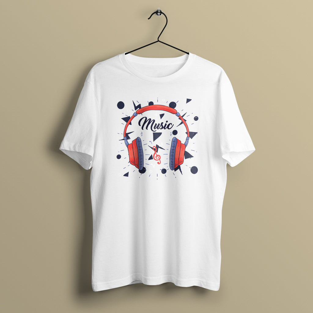 Headphones Music T-Shirt