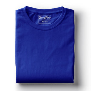 Royal Blue Premium Tee