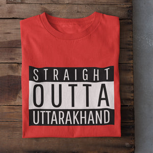 Straight Outta Uttarakhand Men's T-Shirt