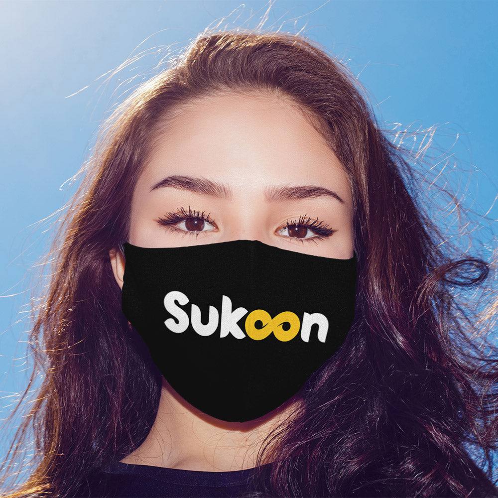 Sukoon Printed Mask For Men and Women