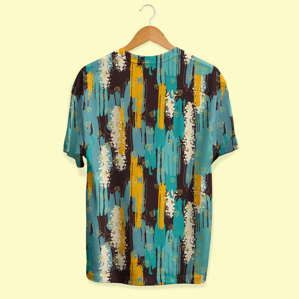 Vertical Brush Strokes Unisex T-Shirt
