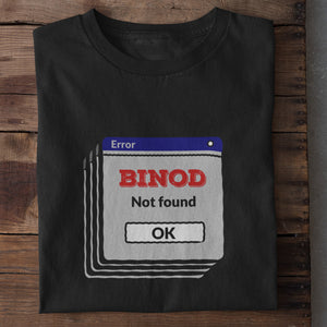 Binod Not Found Premium T-Shirt