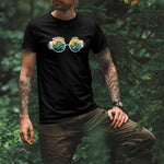 Wander Lust Men's Round Neck T-shirt