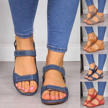 Load image into Gallery viewer, 🔥2020 Hot Only $19.99 Today 🔥Premium Faux Leather Orthopedic Women Sandals