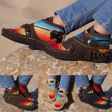 Load image into Gallery viewer, 🔥Just $23.99 Today Only🔥 Cowgirl Leather Moccasins