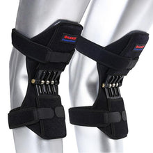 Load image into Gallery viewer, Power Knee Stabilizer Pads Knee Pad Brace Joint Support Knee Pads Power Lifts Knee Protection Boost Knee Band Mountaineering Deep Care Powerleg Knee Joint Protector Support Pad Knee Guard Sport Pad Buy Power Leg Iron Light Knee Guard for Sports and Works and Daily Life Invention Patent ... WellWear Neoprene Knee Stabilizer Open Patella, One Size - Toolsneeds.com