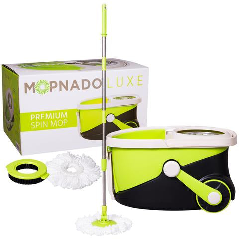 Deluxe Walkable Spin Mop by Mopnado