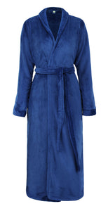 Women's Soft Fleece Bathrobe