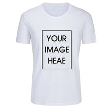 Load image into Gallery viewer, Personalized T-Shirt With Design Logo