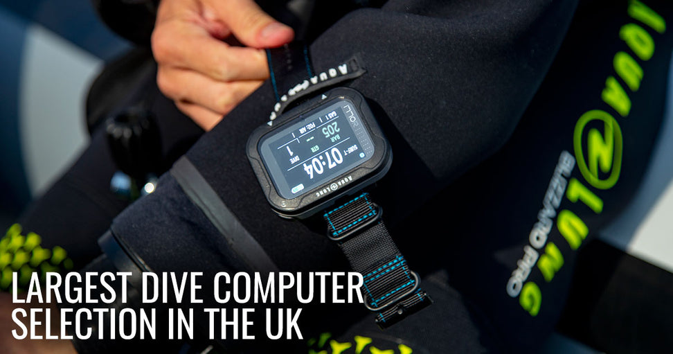 Largest Dive Computer Selection In The UK