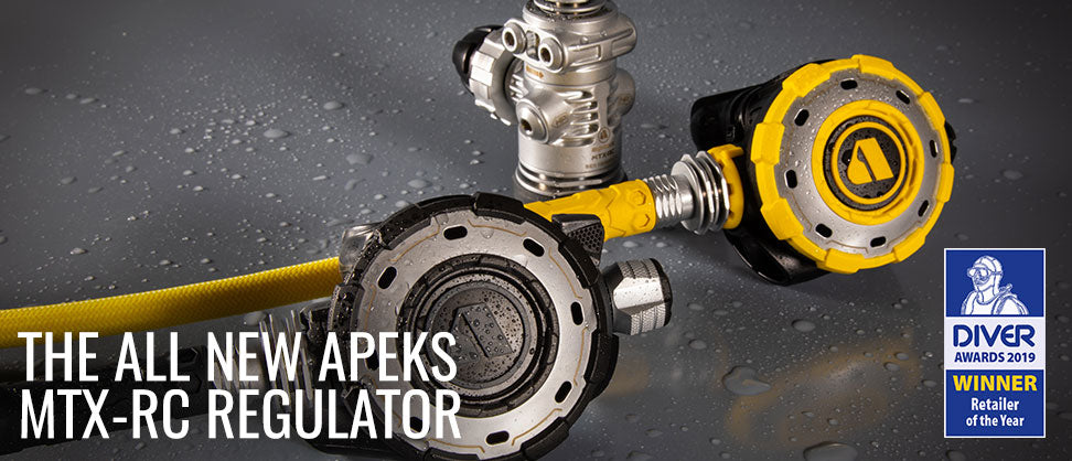The All New Apeks MTX-RC Regulator