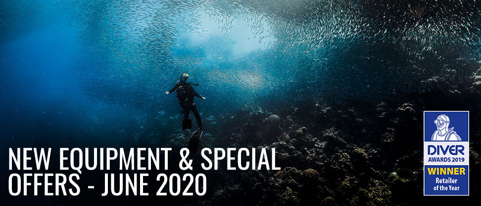 New Scuba Diving Equipment and Special Offers - June 2020