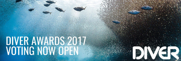 Diver Awards 2017 - Voting Now Open
