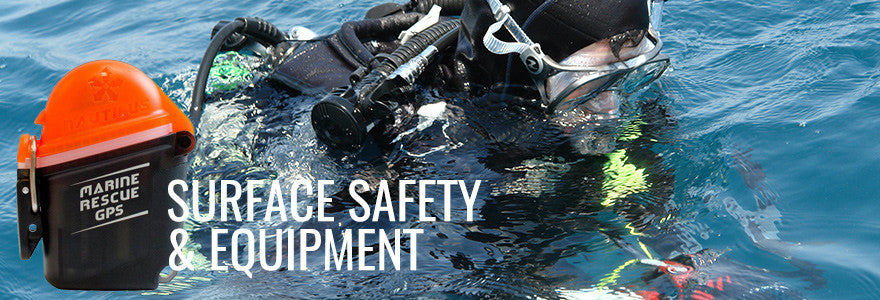 Scuba Diving Surface Safety and Equipment