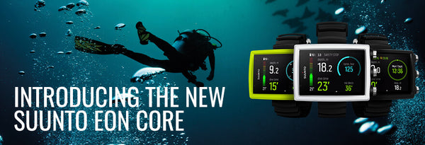 Introducing the New Suunto EON Core Dive Computer