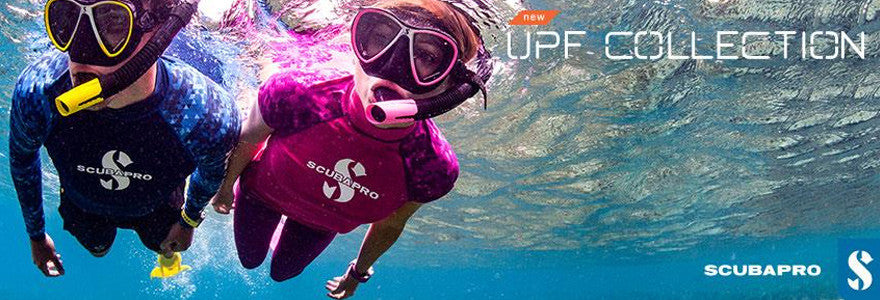 New Scubapro UPF Rash Guard Collection