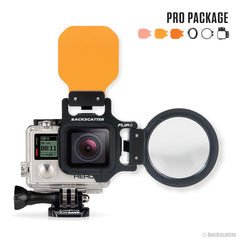 Flip 4 Filters Pro Package with Macro Lens for GoPro