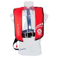 Typhoon Inflatable Cyclone 150 Lifejacket ManualRed - Mike's Dive Store - 1