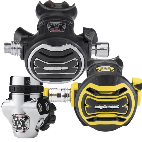 Apeks XTX200 & XTX40 Stage 3 Regulator Set - DIN - Mike's Dive Store