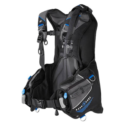 Aqualung Axiom BCD - Blue / Left Side - Mike's Dive Store