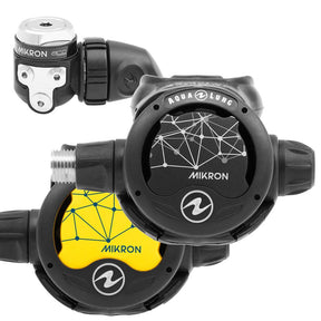 Aqua Lung Mikron Regulator and Octopus