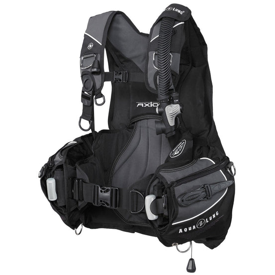 Aqualung Axiom BCD - Black / Left Side - Mike's Dive Store