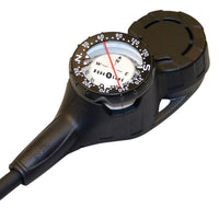 Aqualung Contents, Compass and Depth Gauge Console - Back - Mike's Dive Store