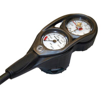Aqualung Contents, Compass and Depth Gauge Console - Mike's Dive Store