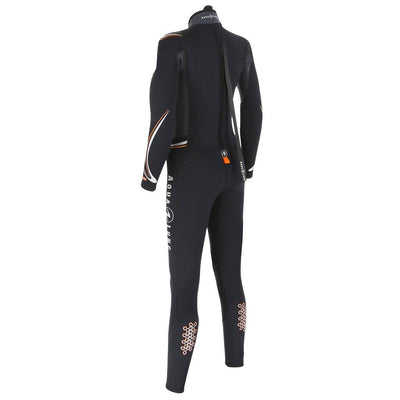 Aqualung Dive 7mm Women's Wetsuit - Back - Mike's Dive Store