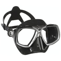 Aqualung Look 2 Dive Mask - Black / Silver - Mike's Dive Store
