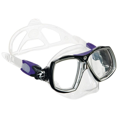 Aqualung Look 2 Midi Dive Mask - Twilight - Mike's Dive Store