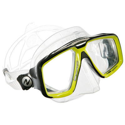 Aqualung Look HD Dive Mask - Hot Lime - Mike's Dive Store