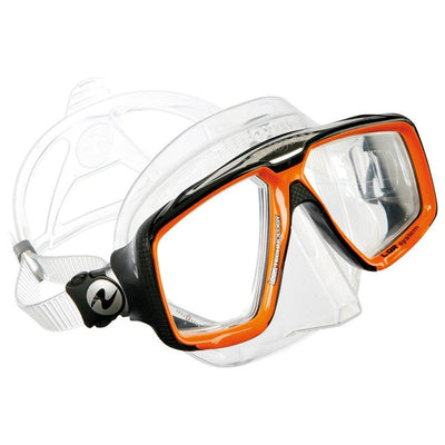 Aqualung Look HD Dive Mask - Orange - Mike's Dive Store