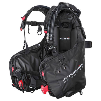 Atomic BC1 BCD - Black - Mike's Dive Store