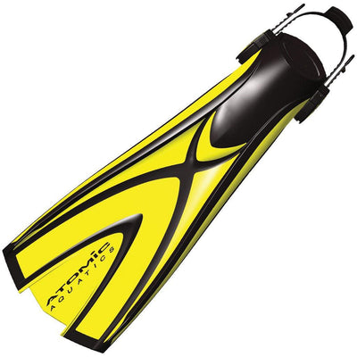 Atomic X1 Dive Fin - Yellow - Mike's Dive Store