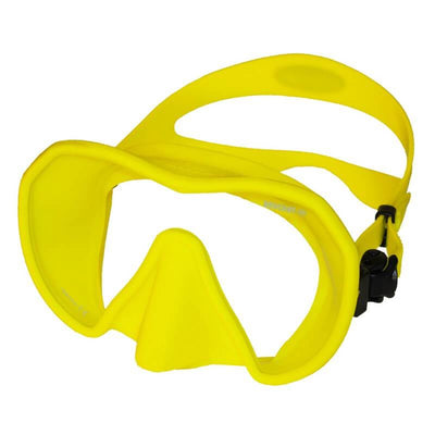 Beauchat Maxlux S Mask - Fluo Yellow - Mike's Dive Store