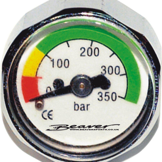 Beaver 1st Stage Button Pressure Gauge - Mike's Dive Store