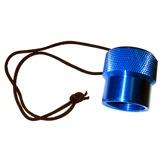 Beaver Aluminium Regulator Dust Cap - Blue - Mike's Dive Store