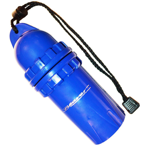 Beaver Blue Large Dry Canister - Mike's Dive Store
