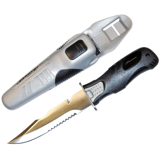 Beaver Cutlass Dive Knife - Mike's Dive Store