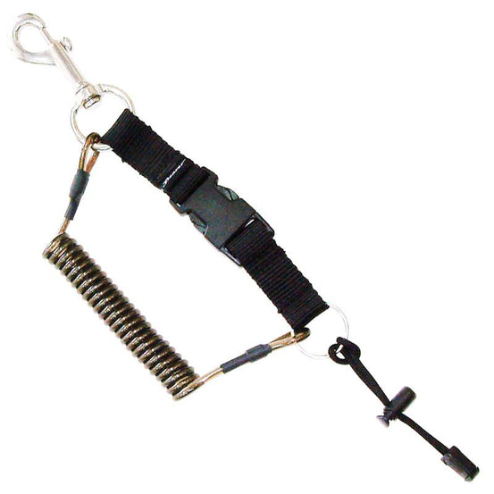 Beaver Quick Attach Stainless Steel Spring Line - Mike's Dive Store