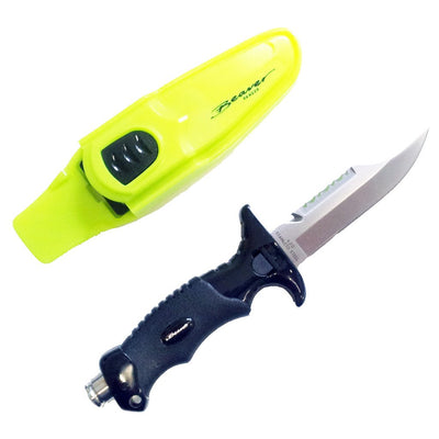 Beaver Ranger Knife - Yellow - Mike's Dive Store