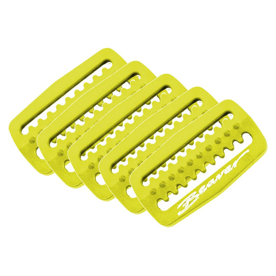 Beaver Weight Retainers - Yellow - Mike's Dive Store