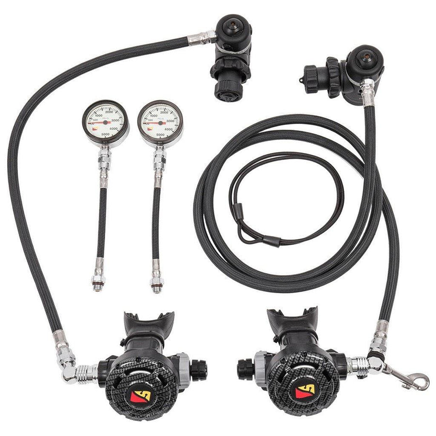 Diving regulators scuba diving regulators 5 - Dive rite sidemount ...