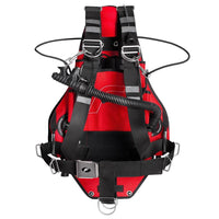 Finnsub FLYside Sidemount Wing Complete Set - Red - Mike's Dive Store