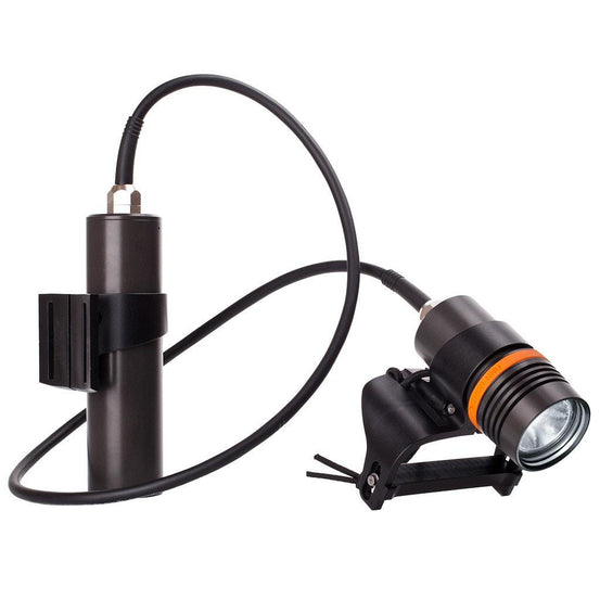 Finnsub Finn Light 2000 Long Dive Torch - Mike's Dive Store