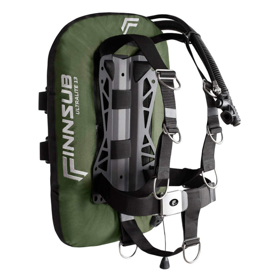 Finnsub Ultralite13 Wing Set - Khaki - Mike's Dive Store