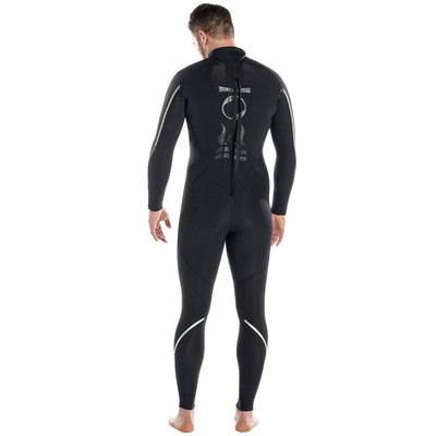 Fourth Element Proteus2 Men's 3mm Wetsuit - Back - Mike's Dive Store