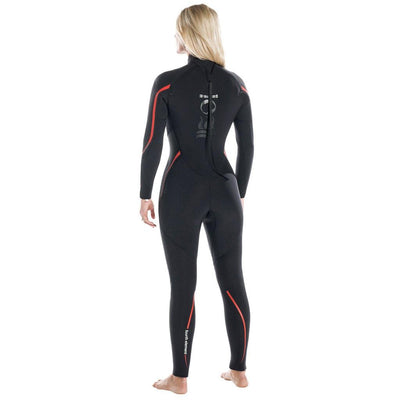 Fourth Element Proteus2 Womens 5mm Wetsuit - Back - Mike's Dive Store
